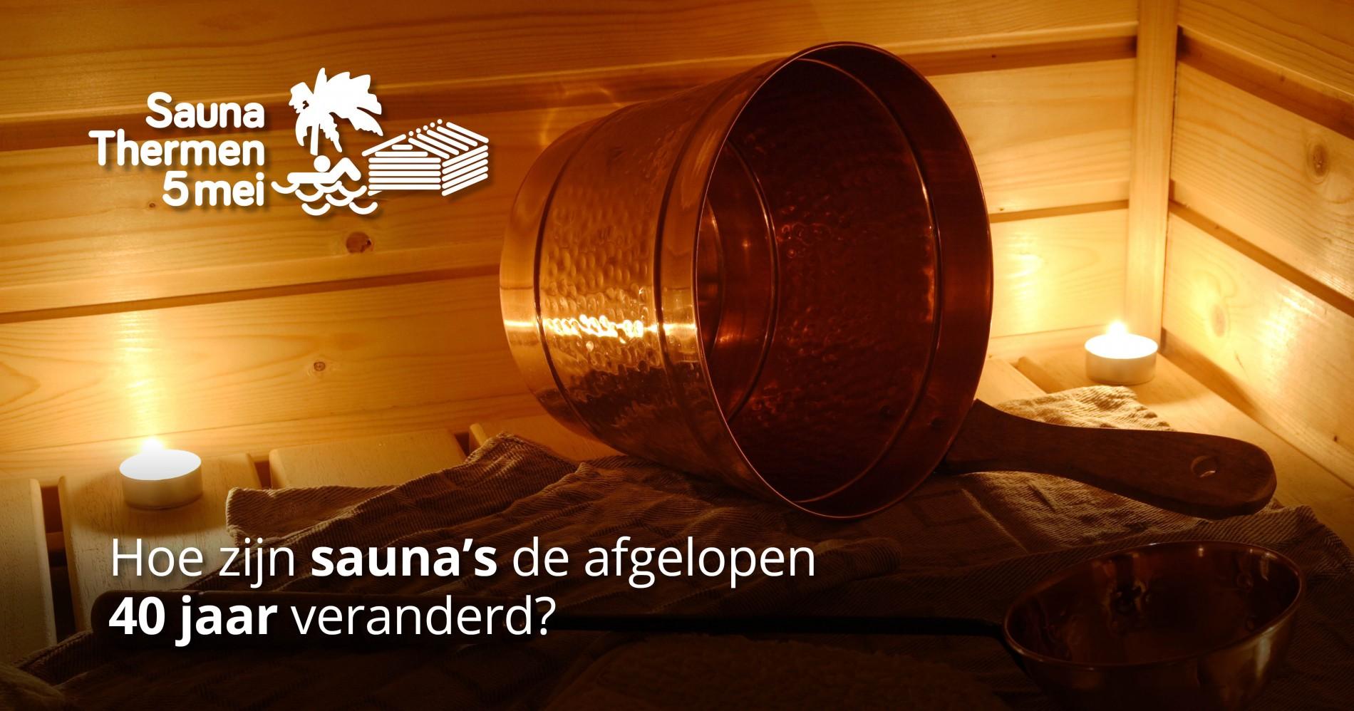 Hoe zijn sauna's de afgelopen 40 jaar veranderd?