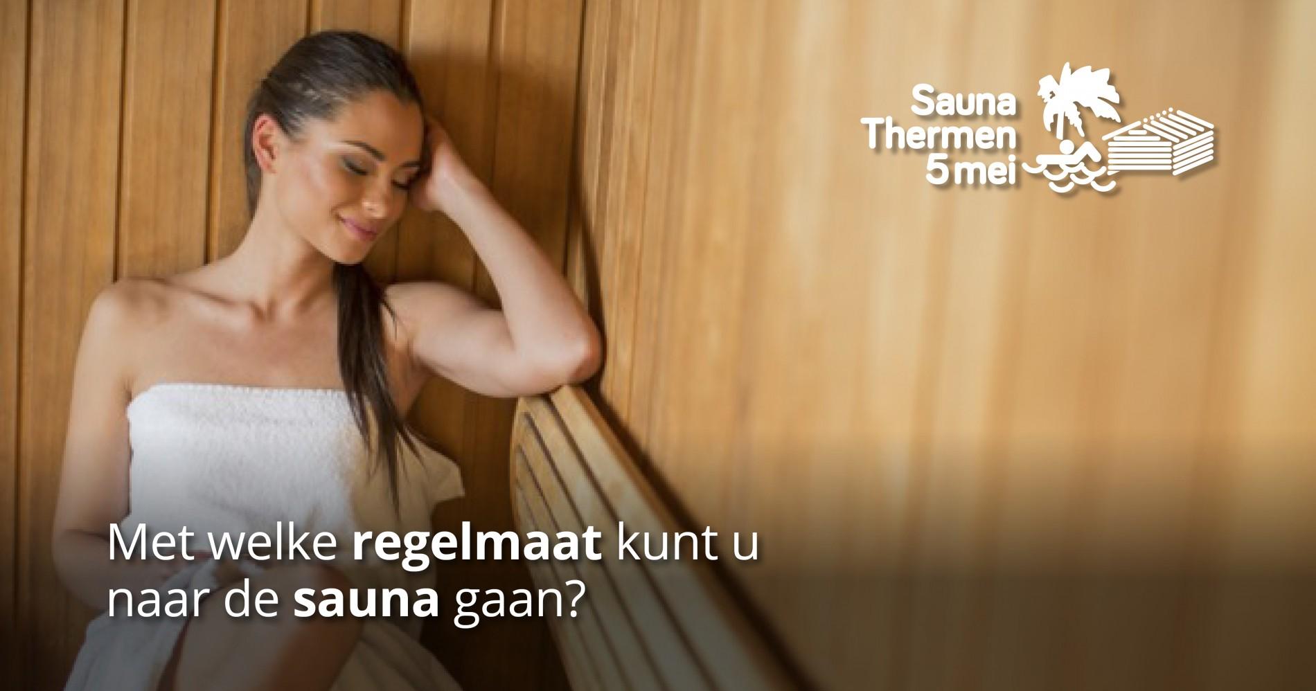 regelmaat sauna bezoeken
